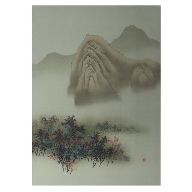 Image of David Lee - Autumn Lithograph