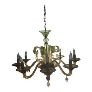 Cyan Design Treviso Amber 8 Light Chandelier