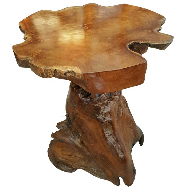 Live Edge Root Side Table - Image 2 of 8