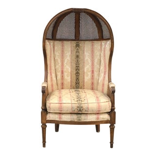 Vintage Unique Aesthetic Movement Wicker Chair