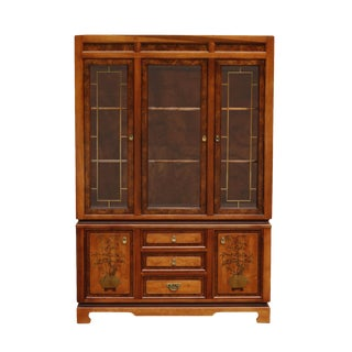 Ming Style China Cabinet by Bassett Furniture