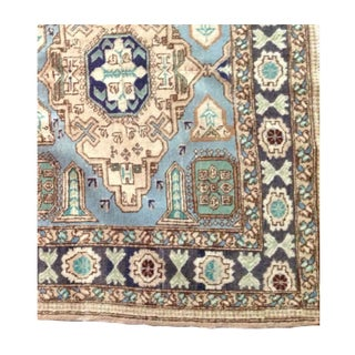 Rare Blue Turkish Rug