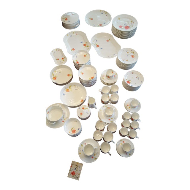 "Mikasa ""Just Flowers"" Dinnerware Set - Image 1 of 11"