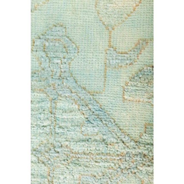 """Over-Dyed Hand Knotted Runner - 3' X 12'7"""" - Image 3 of 3"""