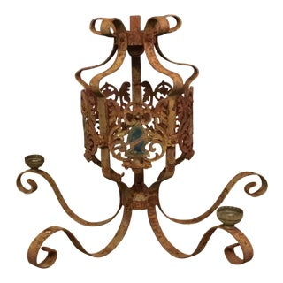 Antique Coat of Arms Chandelier