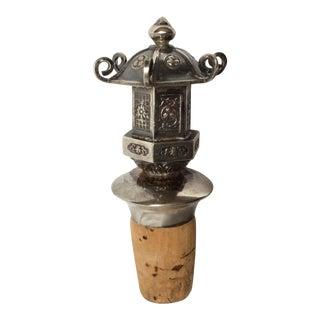Sterling Silver Pagoda Stopper