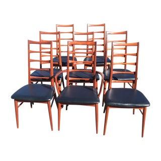 Koefoed Hornslet Danish Modern Dining Chairs - 8