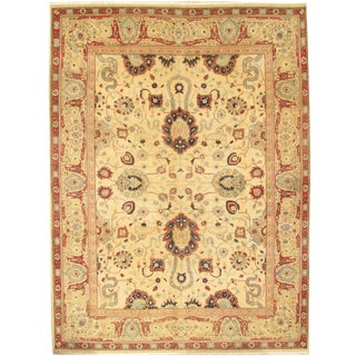 """Pasargad N Y Sultanabad Design Hand-Knotted Rug - 9'0"""" X 12'2"""""""