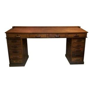 Antique Architect's or Library Desk