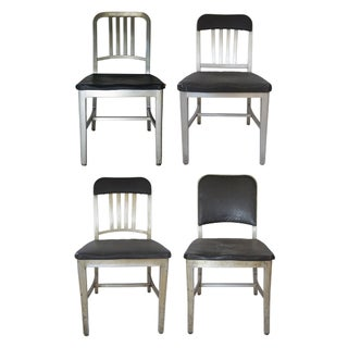 Emeco Aluminum Navy Chairs, Assorted - Set of 4