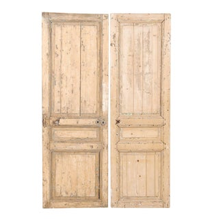 Pair of 19th Century French Wooden Doors
