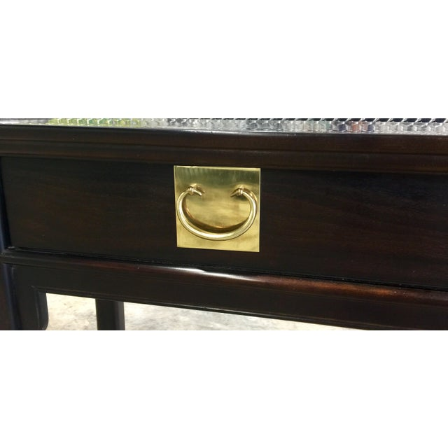 Image of Century Chinoiserie Asian Style Console Table