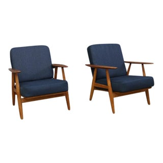 Hans Wegner GE 240 Cigar Chairs - A Pair