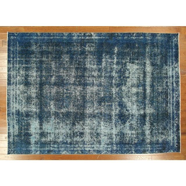 Oriental Persian Overdyed Tabriz Rug 8' x 11' - Image 2 of 8