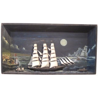 Large Nautical Diorama
