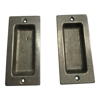Rocky Mountain Hardware Rectangular Flush Pulls - A Pair