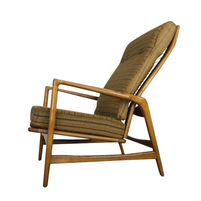 Mid-Century Adjustable High Back Lounge Chair - Image 1 of 11