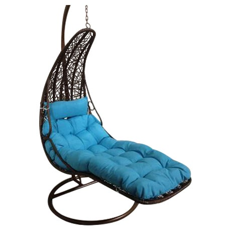 Rattan Swing Chair/Bed - Image 1 of 7