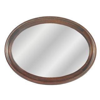 Regency Style Mahogany Mirror