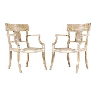 Michael Taylor Klismos Chairs - A Pair