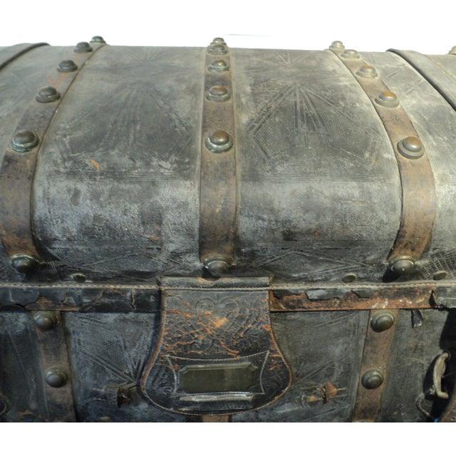 Antique Storage Trunk - Image 7 of 11