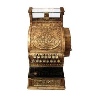 Antique Bronze Cash Register