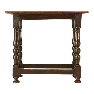 Original Rustic French Side Table