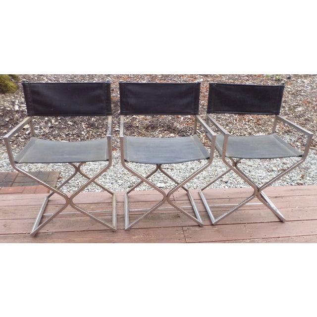 Directors Chairs - Mid Century Modern - Trio - Image 2 of 11