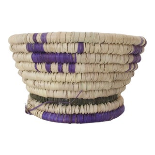 Purple Coyote Basket