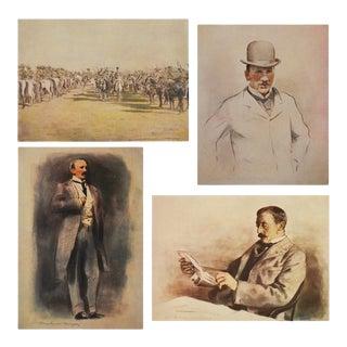 Baron Alfred Milner Lithographs, 1901 - Set of 4
