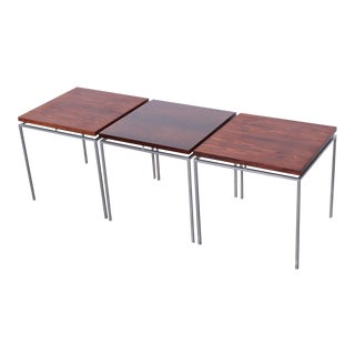 Rosewood Nesting Tables by Knud Joos for Jason
