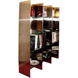 Steel Bookcase by Arflex