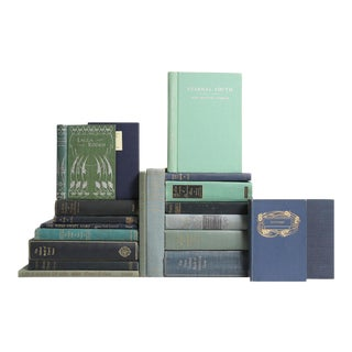 Verse in Sapphire & Spruce Book Collection - Set of 20