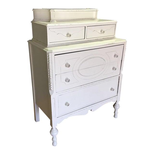 Vaisselier Shabby Chic: Shabby Chic White Dresser