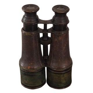 Distressed Green & Black Binoculars