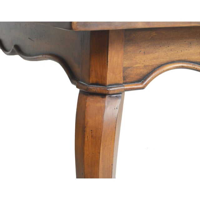 Henredon French-Style Dining Table - Image 3 of 6