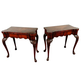 Turn-of-the-Century, English, Games Tables