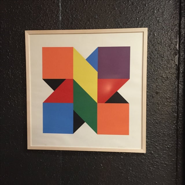 Original Colorful Lithograph, Jules Engel 1960's - Image 3 of 11