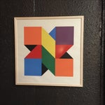 Image of Original Colorful Lithograph, Jules Engel 1960's