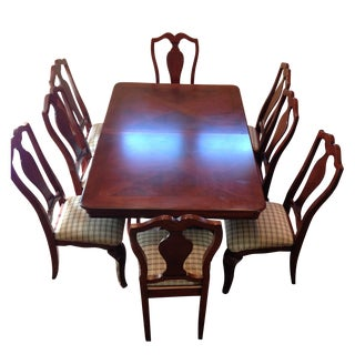Universal Furniture Avignon Cherry Dining Set
