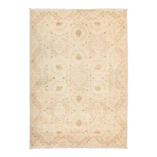 """Suzani Hand Knotted Area Rug - 4' 2"""" X 5' 10"""""""