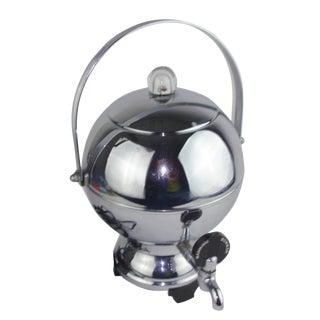 Manning Bowman 1930's Chrome Percolator