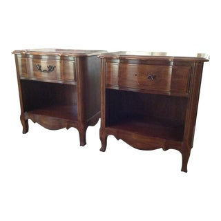 Thomasville French Country Nightstands - A Pair
