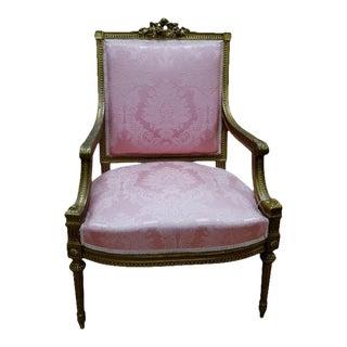 French Louis XVI Arm Chair
