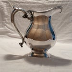Image of Antique Silver Pitcher by Sheffield Early 1900's
