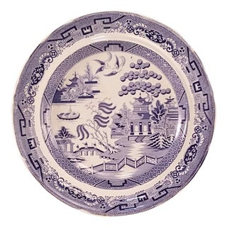 Blue Willow Ware Plate