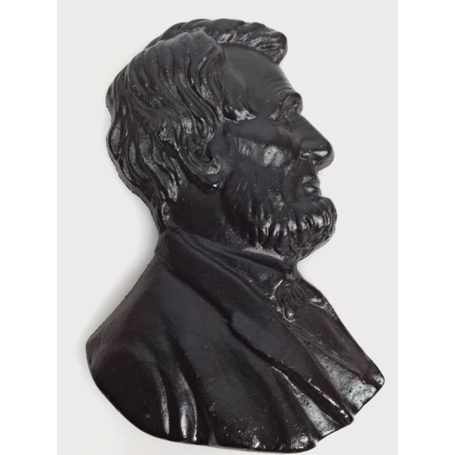 Presidents Cast Iron Wall Decor - A Pair - Image 3 of 6