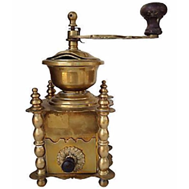 Image of Brass French Coffee Grinder