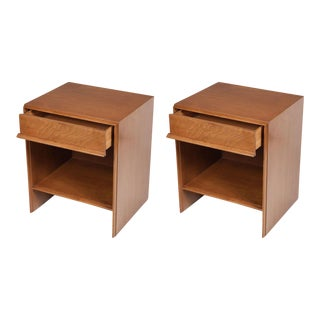 T.H. Robsjohn-Gibbings for Widdicomb Nightstands - a Pair