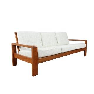 Hw Klein 1970's Teak Danish Sofa